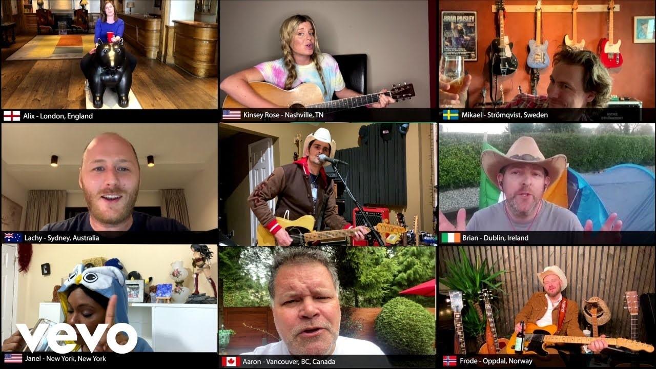 Brad Paisley's New Video