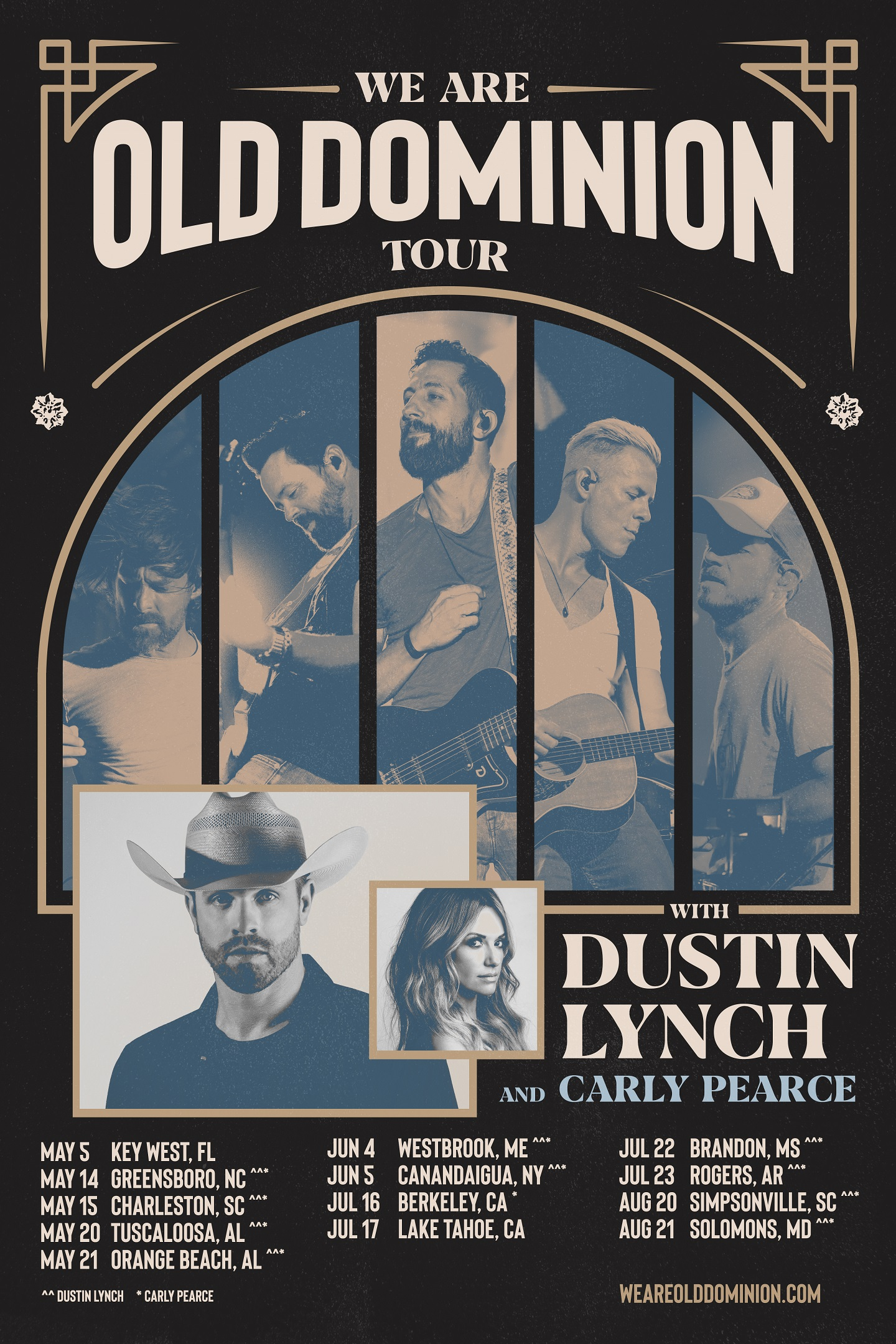 Old Dominion 2020 Tour