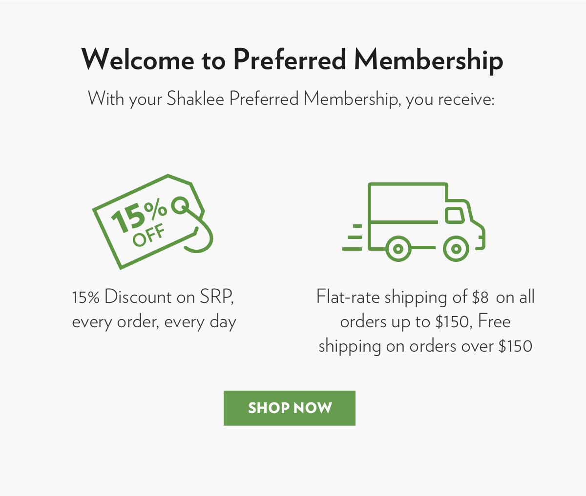 Preferred Membership