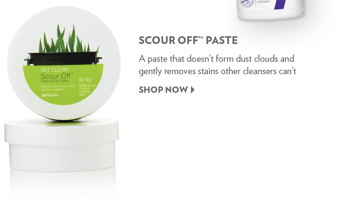 Scour Off™ Paste