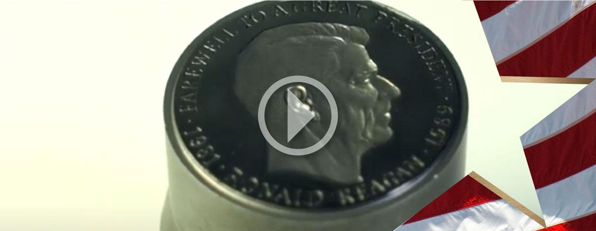 Monday Minute (Season 6) Ep 26- Reagan Medallions