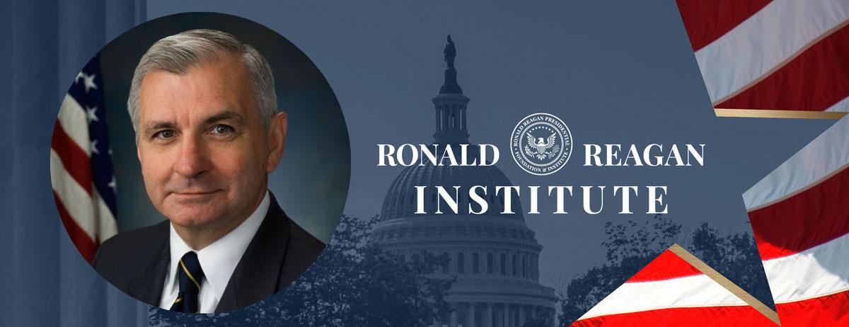 "Online at the Reagan Institute: For ""Defense Priorities"" Senator Jack Reed."