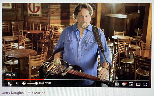 Jerry Douglas Little Martha 2