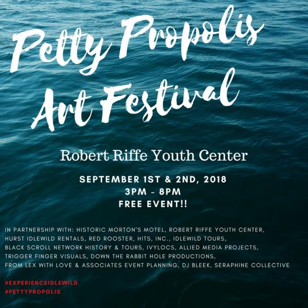 Petty Propolis Flyer_Ocean