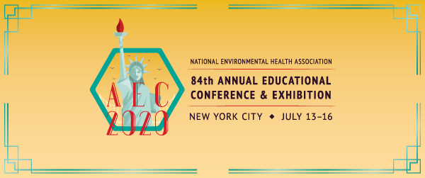 Register now for the NEHA 2020 AEC in New York City.