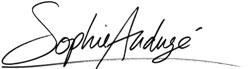Signature Sophie Audugé