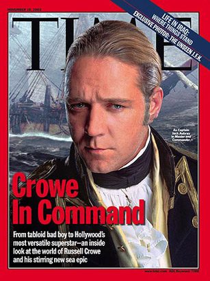 Image result for russell crowe time cover