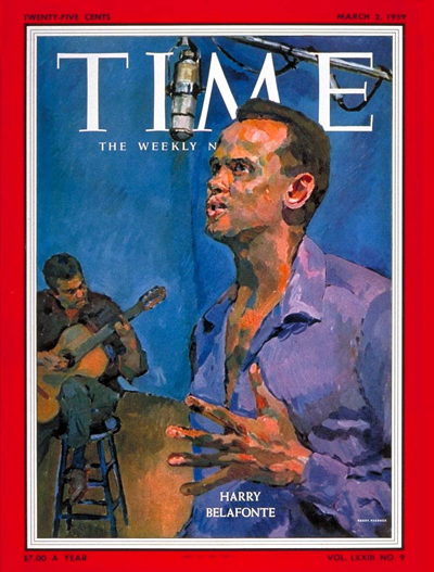 Image result for harry belafonte time cover
