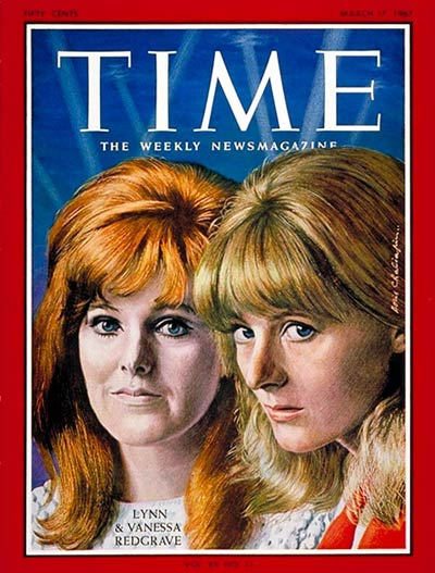 Image result for vanessa redgrave time cover images