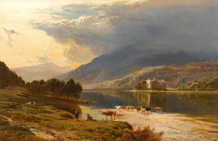 Sidney_Richard_Percy_-_Kilchurn_Castle,_Loch_Awe_(1868) (700x453, 410Kb)