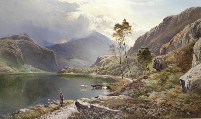 Sidney_Richard_Percy_Llyn-y-Ddinas_North_Wales (700x413, 375Kb)