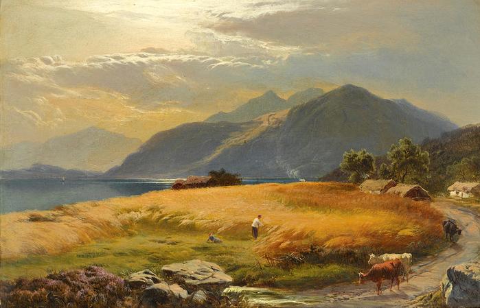 the-highland-loch-sidney-richard-percy (700x449, 370Kb)