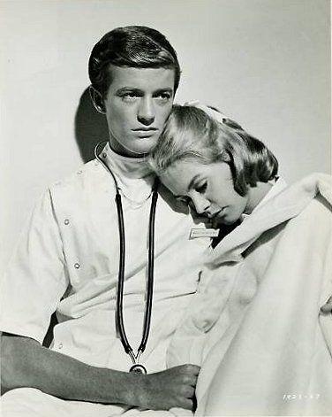 Sandra Dee and Peter Fonda