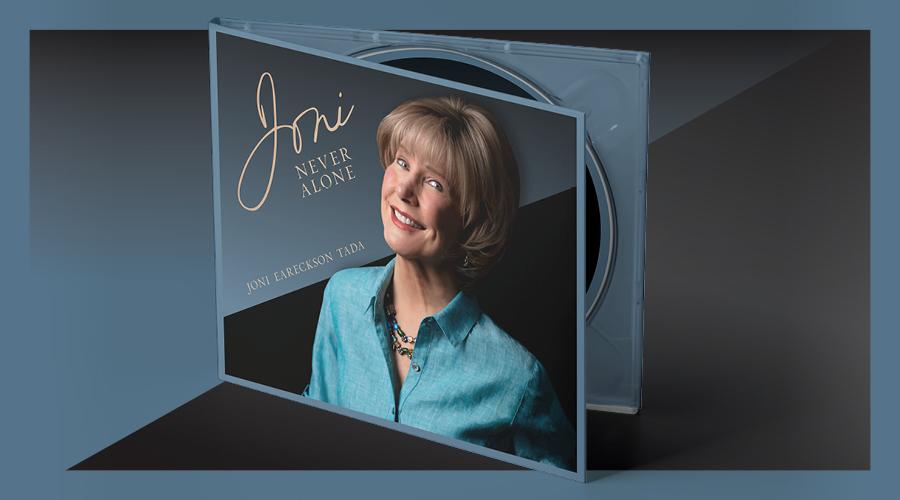 Photo of the new Joni CD.