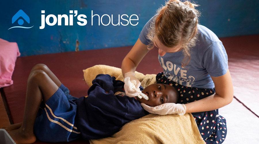 Photo of Joni's House program.