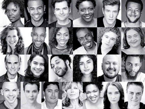 Cast of Barbara Gaines' Romeo and Juliet