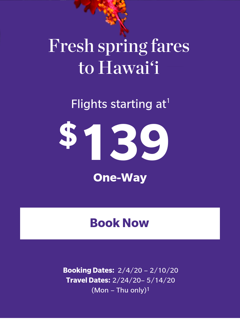 Book your low fare today.^1