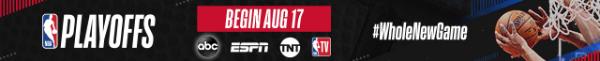 NBA Playoffs Begin Aug 17