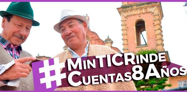 #MinTICRindeCuentas8Años