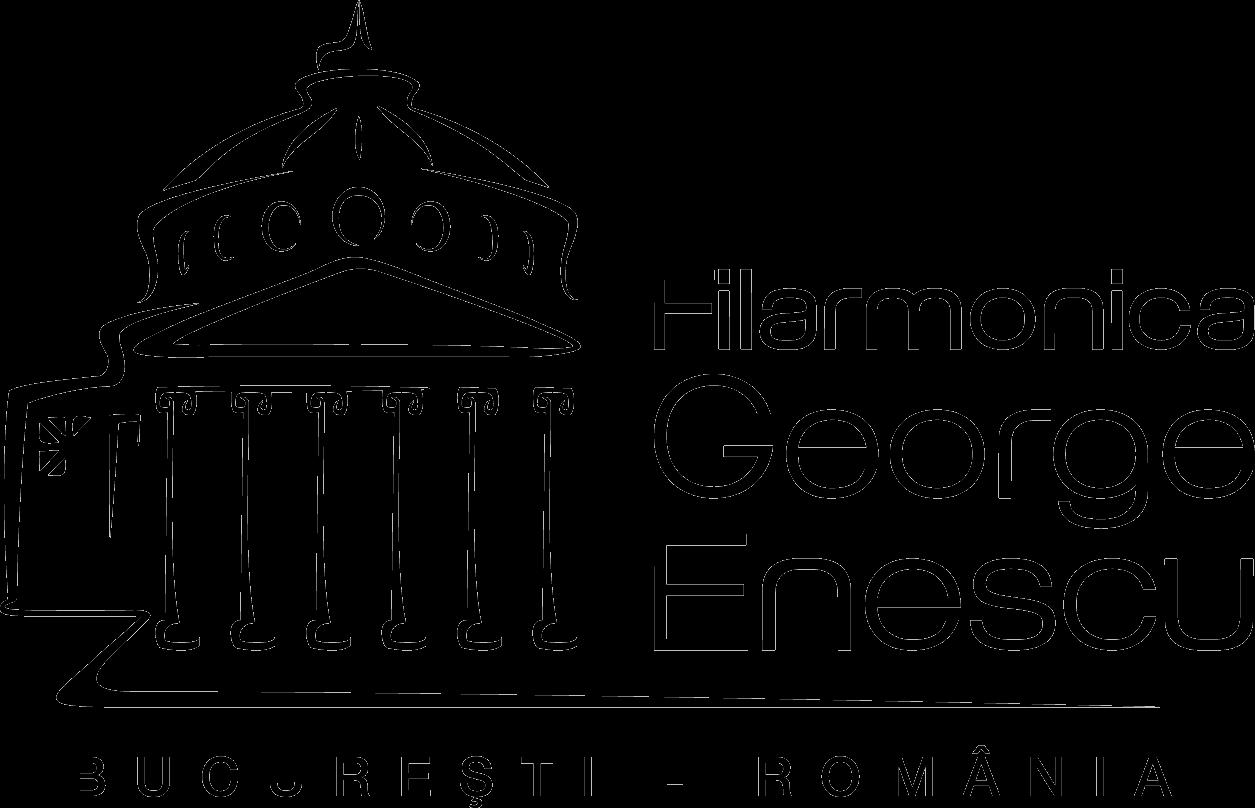 logo filarmonica scris negru
