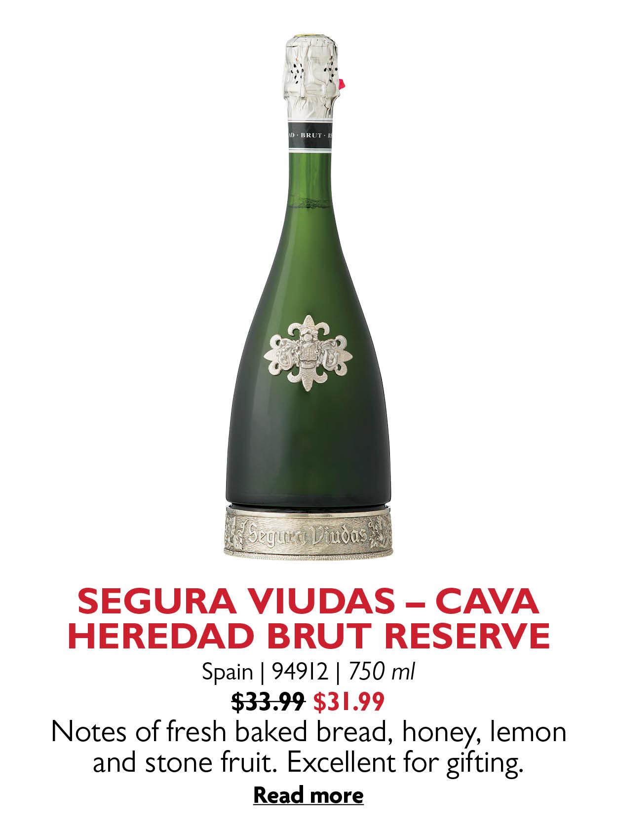 SEGURA VIUDAS - CAVA HEREDAD BRUT RESERVE
