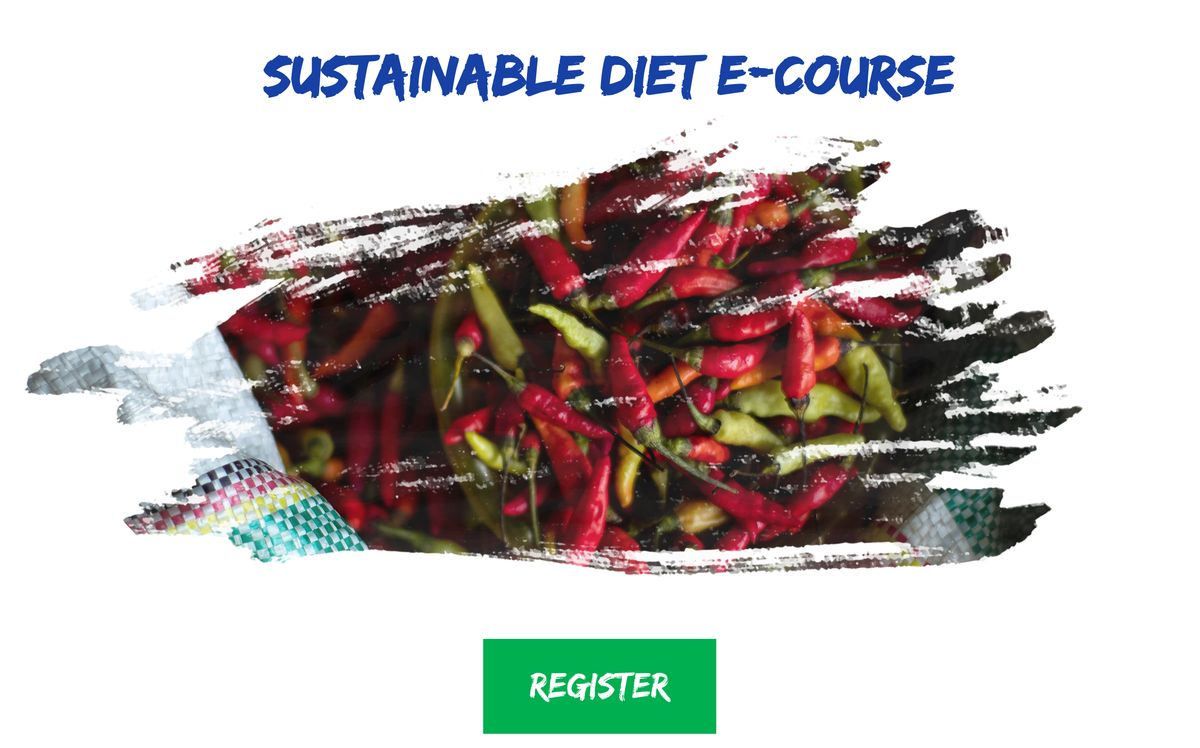 Sustainable DietE-Course Registration