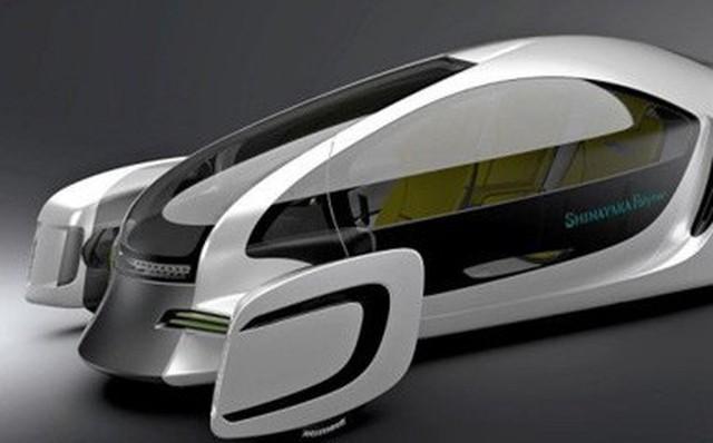 Tiết lộ xe hơi đầu tiên trên thế giới được làm 90% từ nhựa