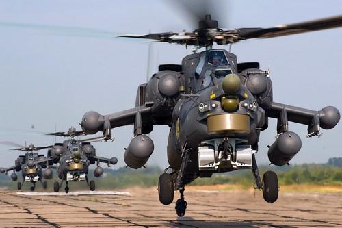 Mi-28N Night Hunter của Nga có tốc độ tối đa 300 km/h