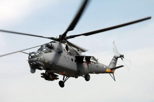 Với tốc độ tối đa 310 km/h, Mi-35M đứng số 3 trong danh sách 10 máy bay trực thăng nhanh nhất thế giới