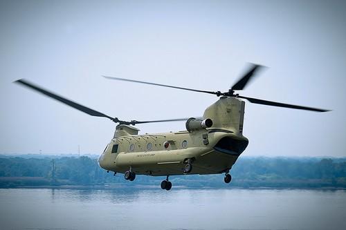 CH-47 Chinook của Mỹ, tốc độ tối đa của nó là 315 km/h