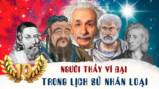 10 người thầy vĩ đại nhất trong lịch sử nhân loại - Ảnh 1.