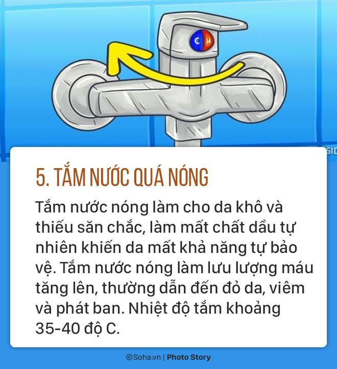 Sửa ngay 5 thói quen tắm sai lầm gây hại sức khoẻ mà nhiều người có thể đang làm mỗi ngày - Ảnh 5.