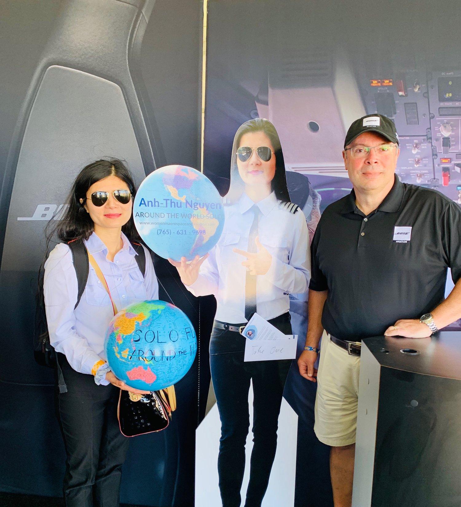 Visiting Bose Aviation at Oshkosh — Asian Women in Aerospace and Aviation