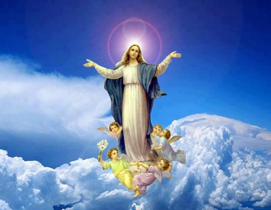 Image result for assumption of our lady