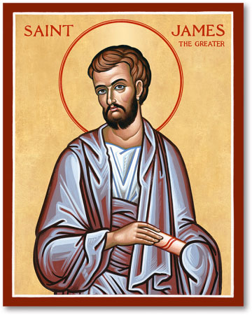 Image result for saint james the greater