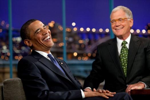 David Letterman & Pres. Obama