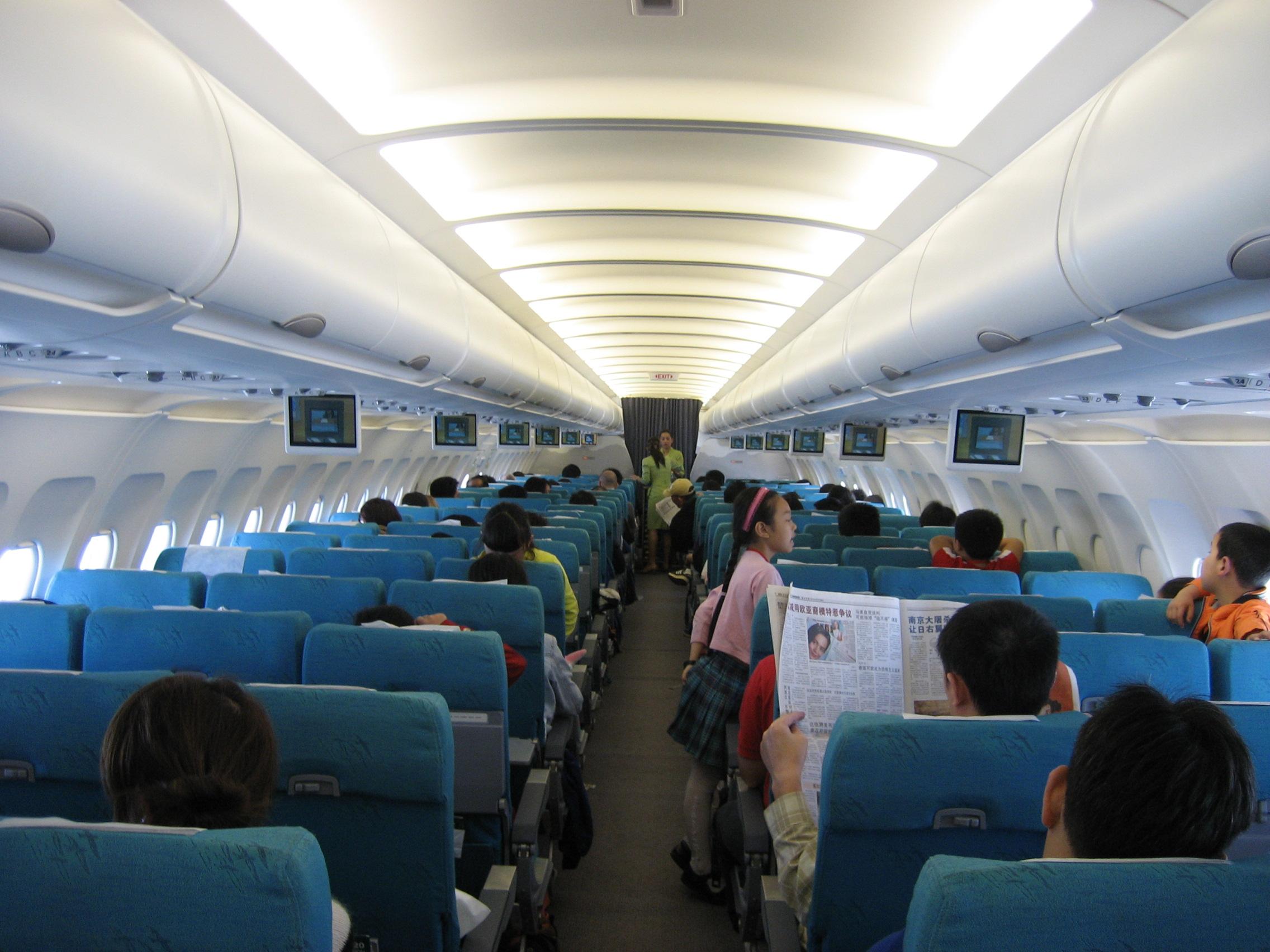 Cabin of Plane