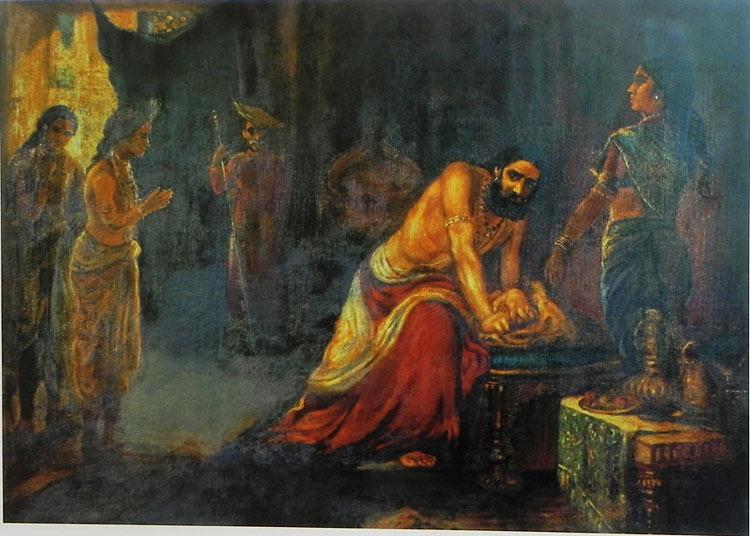 Krishna Pleads for Peace