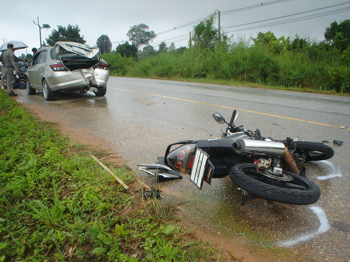 Car Motorcycle Accident