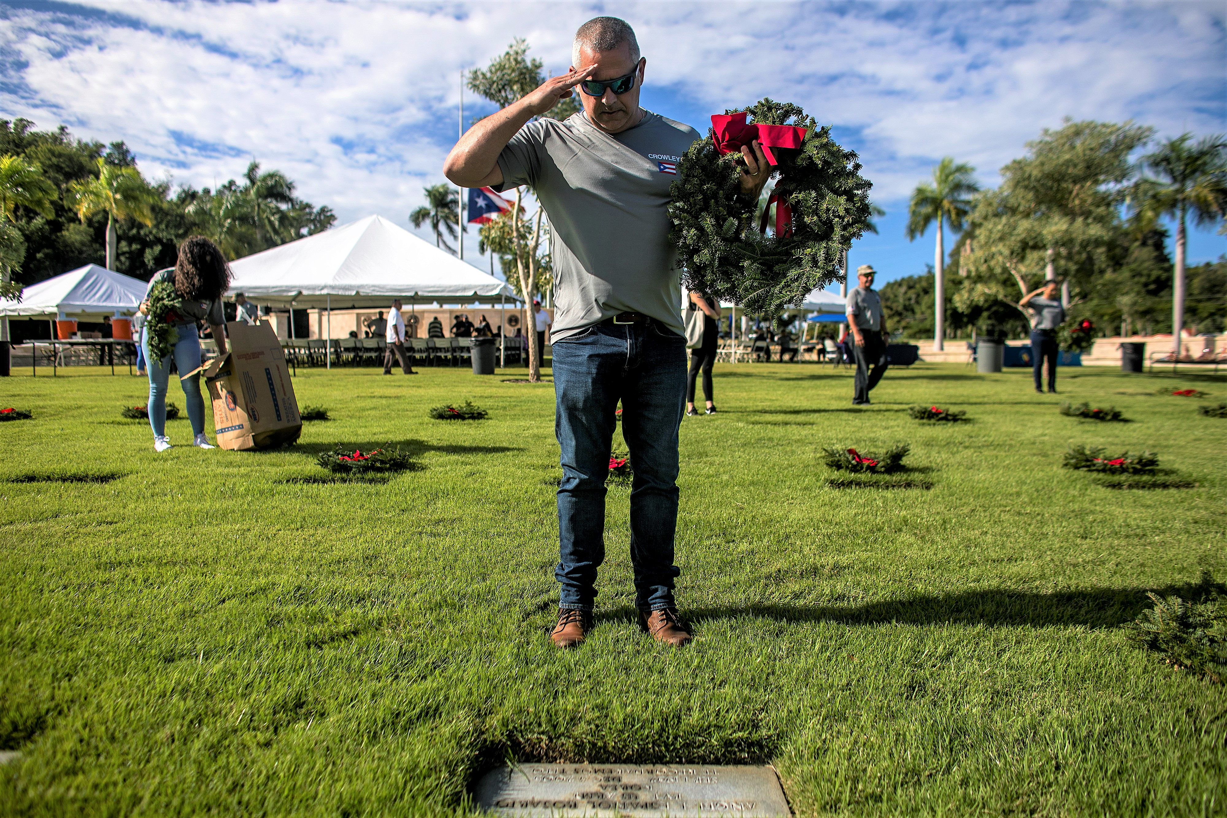 Crowley supports veterans and military in Puerto Rico