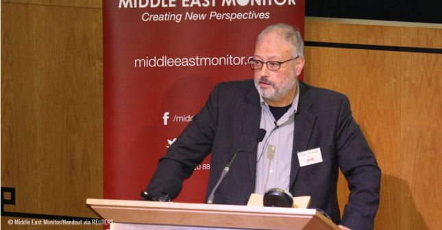 Jamal Khashoggi ©Middle East Monitor/Handout via Reuters