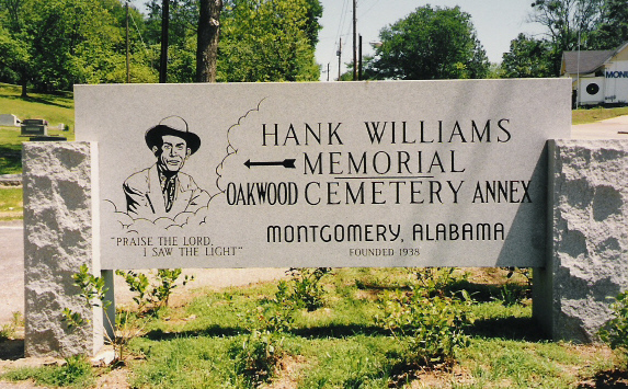 Image result for picture of tombstone of hank williams