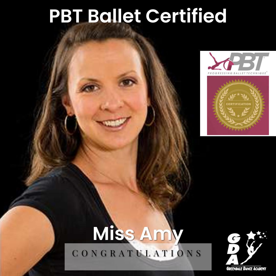 PBT Ballet Certification