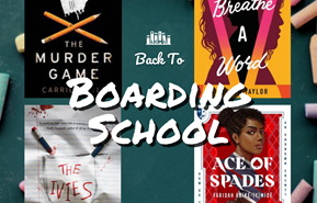 Back to Boarding School book covers