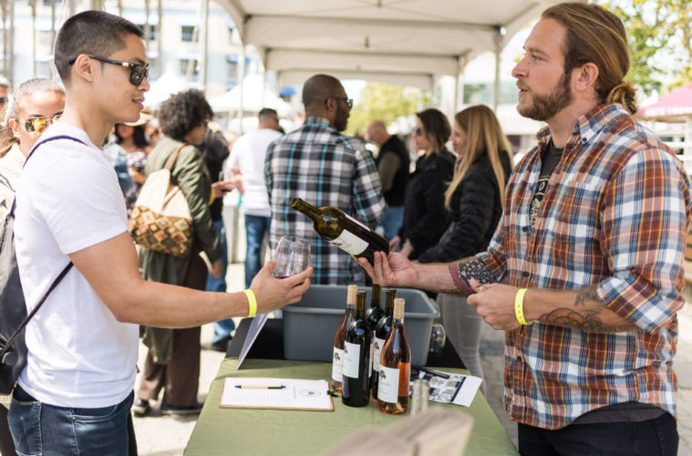 Image result for jack london square art and wine festival