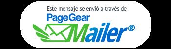 Este mensaje se envio a ud a traves de PageGear Mailer de Exusmultimedia SAS