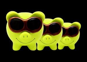 piggy bank shades