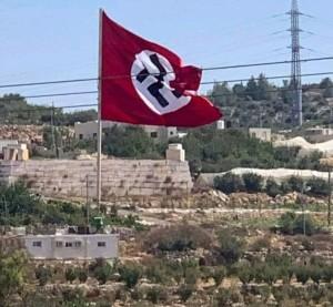 Palestinian Nazi flag