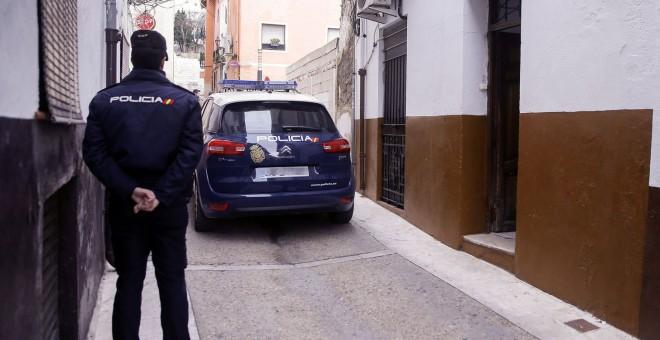 Un agente de la Policía Nacional en una imagen de archivo. - EFE