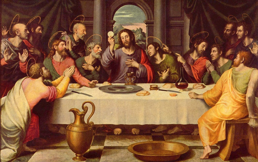 Risultati immagini per immagini dell'Ultima Cena di Gesù